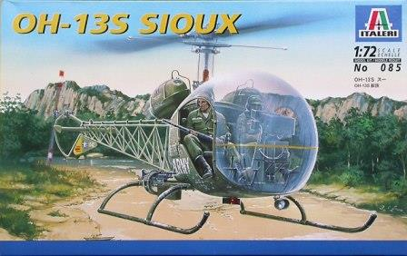 Italeri (IT085) Bell OH-13S Sioux, 1/72