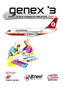 "117-LH ""Genex '3"", Small Scale Yugoslav Airliners, pt 11,"
