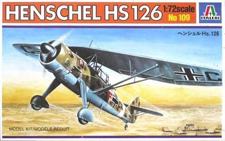 Italeri (IT109) Henschel Hs-126, 1/72