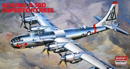 Academy (2112) Boeing B-50D Superfortress, 1/72 **