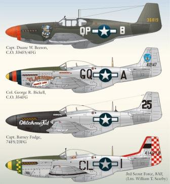 LL48-047, North American P-51 Mustang, Part 3, 1/48