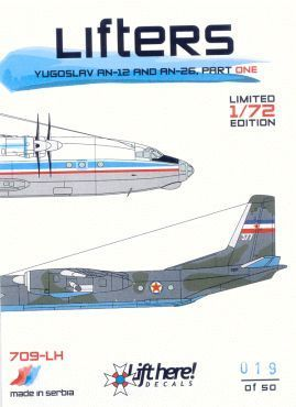 "709-LH ""LIFTERS"" Yugoslav An-12 and An-26, part one"