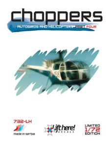 732-LH Choppers: Autogyros & Helicopters, Part 4, 1/72