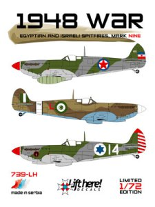 "739-LH ""1948 War"" - Egyptain and Israeli Spitfires, Mk.IX"