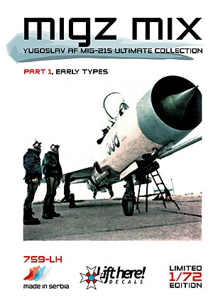"759-LH ""Migz Mix I"", YuAF MiG-21 Ultimate Collection, pt 1, 1/72"