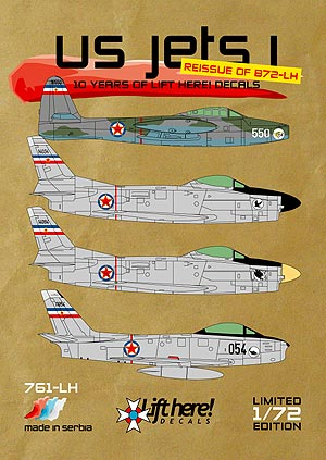 "761-LH ""US Jets I"", 10 Years of Lift Here! Ed, 1/72"