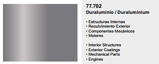 Metal Color, 77.702, Duraluminium