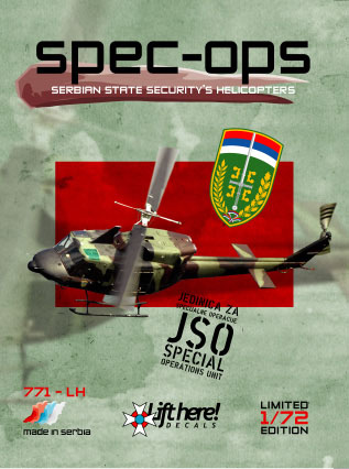 "771-LH ""Spec Ops"", Serbian State Security Helicopters, 1/72"