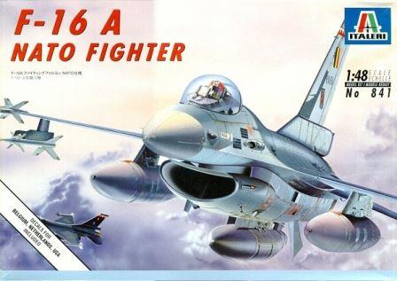 Italeri (IT841) G.M. F-16A Falcon, 1/48 **