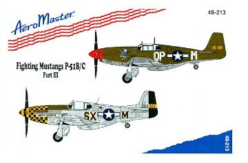 Aeromaster (48-213) Fighting Mustangs P-51B/C, part 3, 1/48