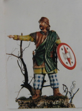 Albion Miniatures, AM80/06, Gallic Celt, 1st C B.C., 80mm