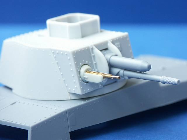 B35-011 ZB.37 barrel for Czech Tank Machine Gun, 1/35