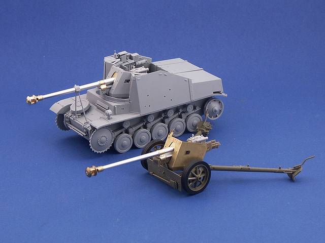 B35-078 75mm PaK40 barrel for A/T Guns (Final prod.), 1/35