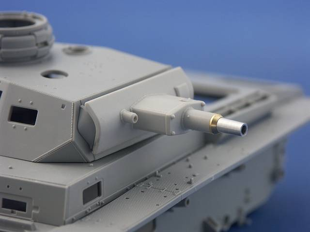 B35-088 75mm KwK37/L24 barrel for Pz.Kpfw. III, 1/35