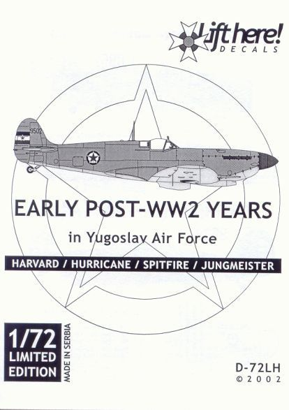 D-72LH • EARLY post-WWII YEARS IN YUGOSLAV AIR FORCE