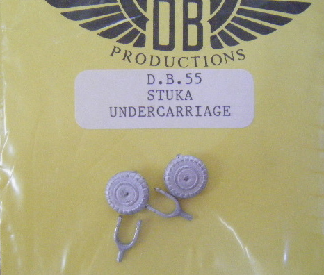 DB Prod (DB.55) Junkers Ju-87 undercarriage - un-spatted, 1/72 *
