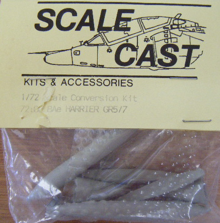 Scalecast (72:06) Bae Harrier GR.5/7 detail, 1/72 **