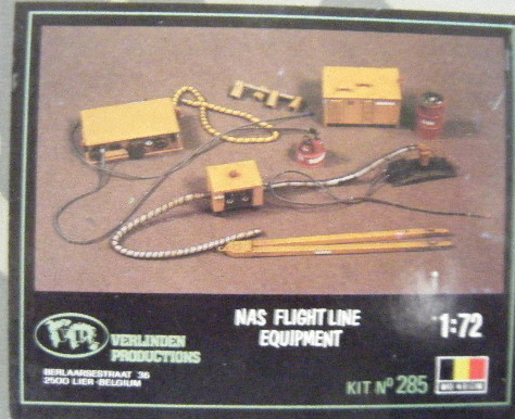 VP (0285) NAS flight line equipment, 1/72 **