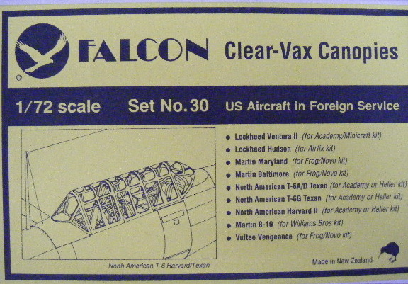 Falcon (VAX-30) US Aircraft in Foreign Service, 1/72 **