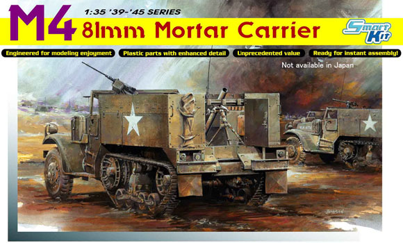 DML (6361), M4 81mm Mortar Carrier -, 1/35