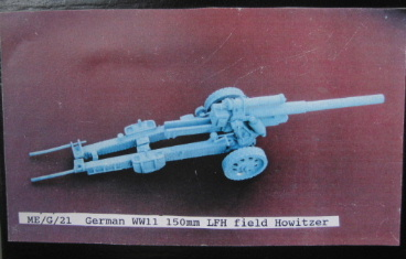 Hinchcliffe ME/G/21, 150mm LFH Field Howitzer, 1/35