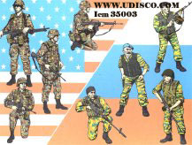 ICM (35003) Anti-terror forces - Balkans 1999-2001, 1/35 **