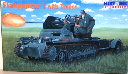 HiPm (35-006) Flakpanzer I with ammo trailer, 1/35 **