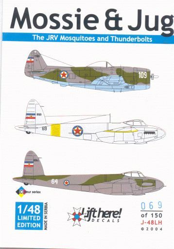 "J-48LH ""Mossie & Jug"" The JRV Mosquitoes and Thunderbolts"