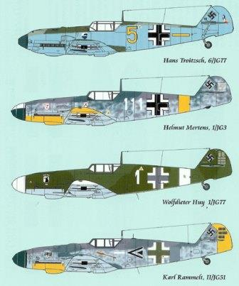 LL72-002 Messerschmitt Me 109 Part 1, 1/72