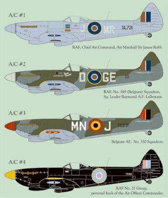 LL72-006 Supermarine Spitfire Mk.16 Part 1, 1/72 (OOP)