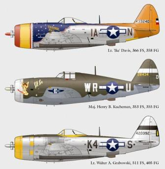 LL72-009 Republic P-47D Thunderbolt Part 2, 1/72 (OOP)