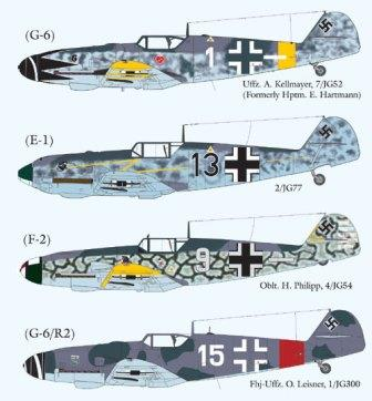 LL48-016 Messerschmitt Me-109 Part 2