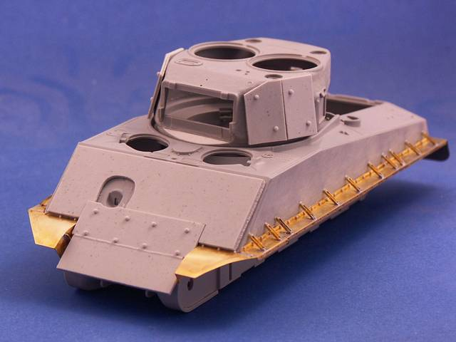 R35-027 Additional Armour Plates for M4 Sherman, 1/35