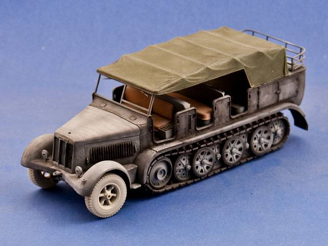 R35-037 Road Wheels for the Sd.Kfz.7, 1/35