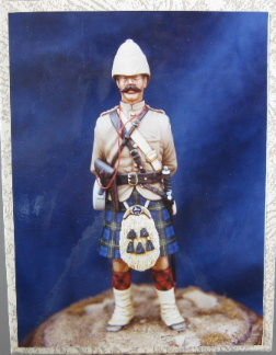 Michael Roberts FB-4, Co. Off. 92nd Highlanders, 1880, 100mm