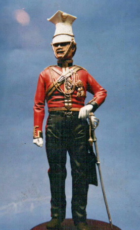 Roll Call, RC??, Officer 16th Lancers, Aliwal 1845-46, 120mm