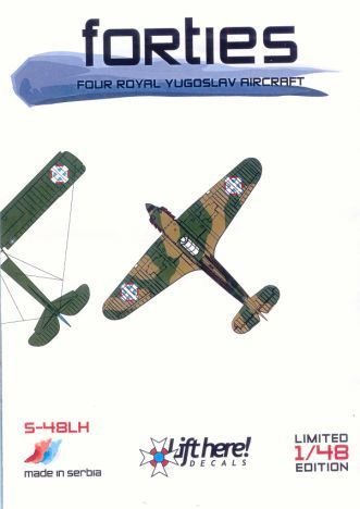 "S-48LH ""Forties"" Four Royal Yugoslav Aircraft"