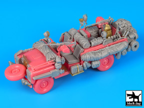 Black Dog (T35117) Land Rover Pink Panther accessories, 1/35