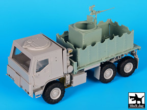 Black Dog (T35140) M1083 Gun Truck conversion, 1/35