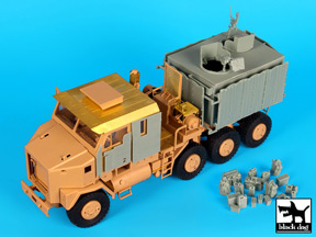 Black Dog (T35168) M1070 Gun truck conversion set, 1/35