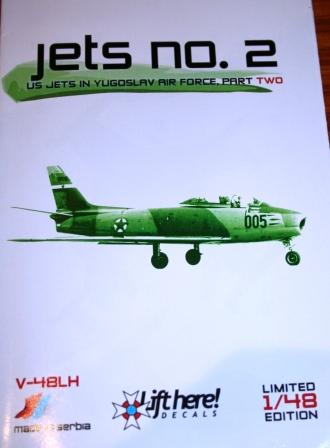 "V-48LH ""Jets no.2"" US Jets in Yugoslav Air Force, part 2"