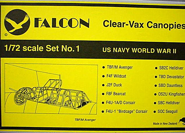 Falcon (VAX-01) USN WWII (part 1), 1/72 **