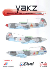 X-48LH Yakz (Soviet Fighters in Yugoslavia 1)