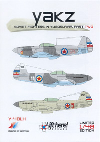 Y-48LH Yakz (Soviet Fighters in Yugoslavia 2)