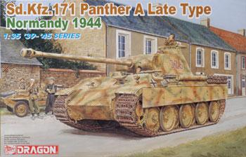DML (6168) SdKfz 171 Panther A Late Prod. Normandy '44, 1/35