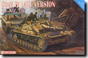 DML (6043) StuG IV late version Sdkfz.167, 1/35 **