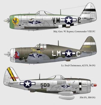 LL48-008 Republic P-47D Thunderbolt Part 1