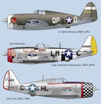 LL48-010 Republic P-47D Thunderbolt Part 3